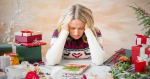Young woman forgetting about having a stress-free holiday