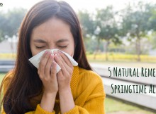 5 Natural Remedies for Springtime Allergies