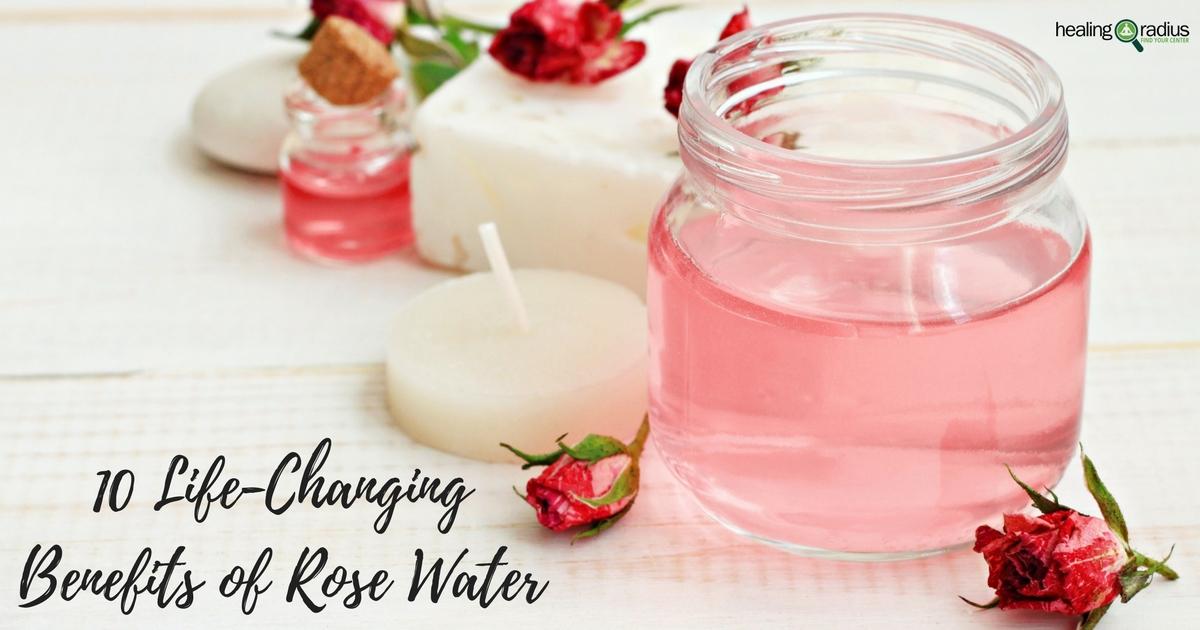 6 Life-Changing Rose Water Benefits