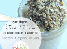Frozen Pumpkin Pie Jars