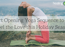 heart opening yoga pose