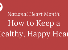 How to Keep a Healthy, Happy Heart