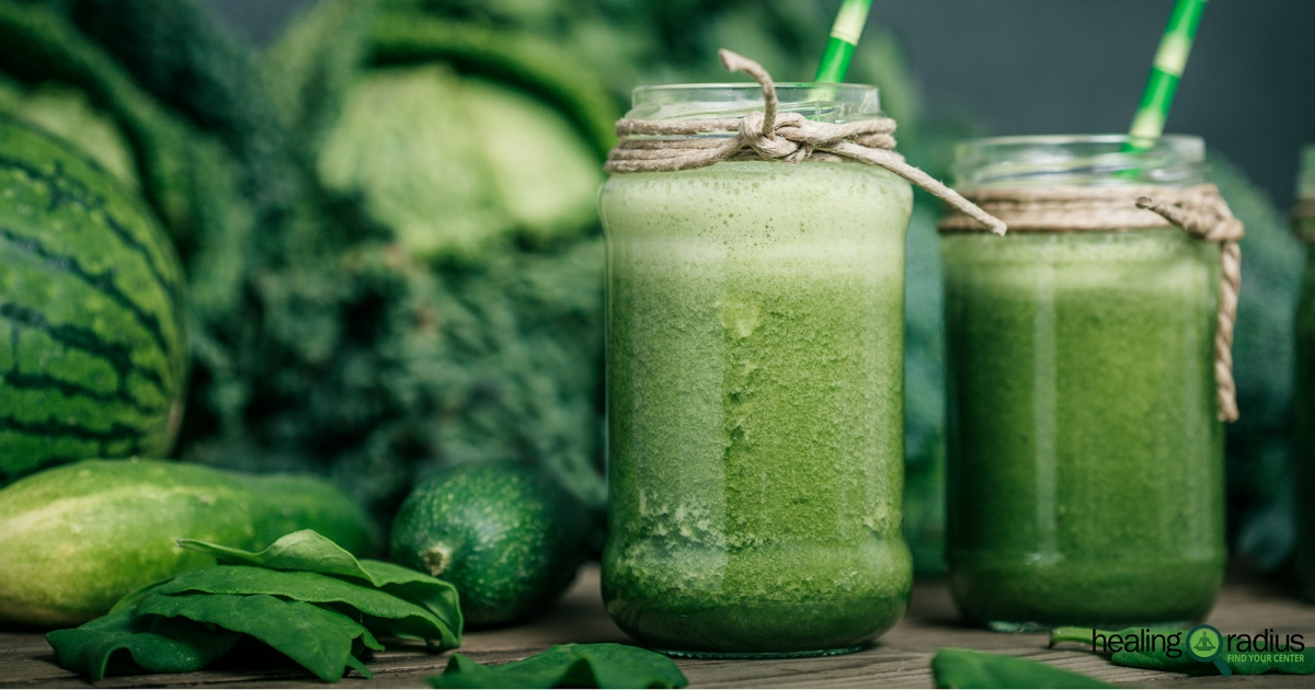 rustic green smoothies