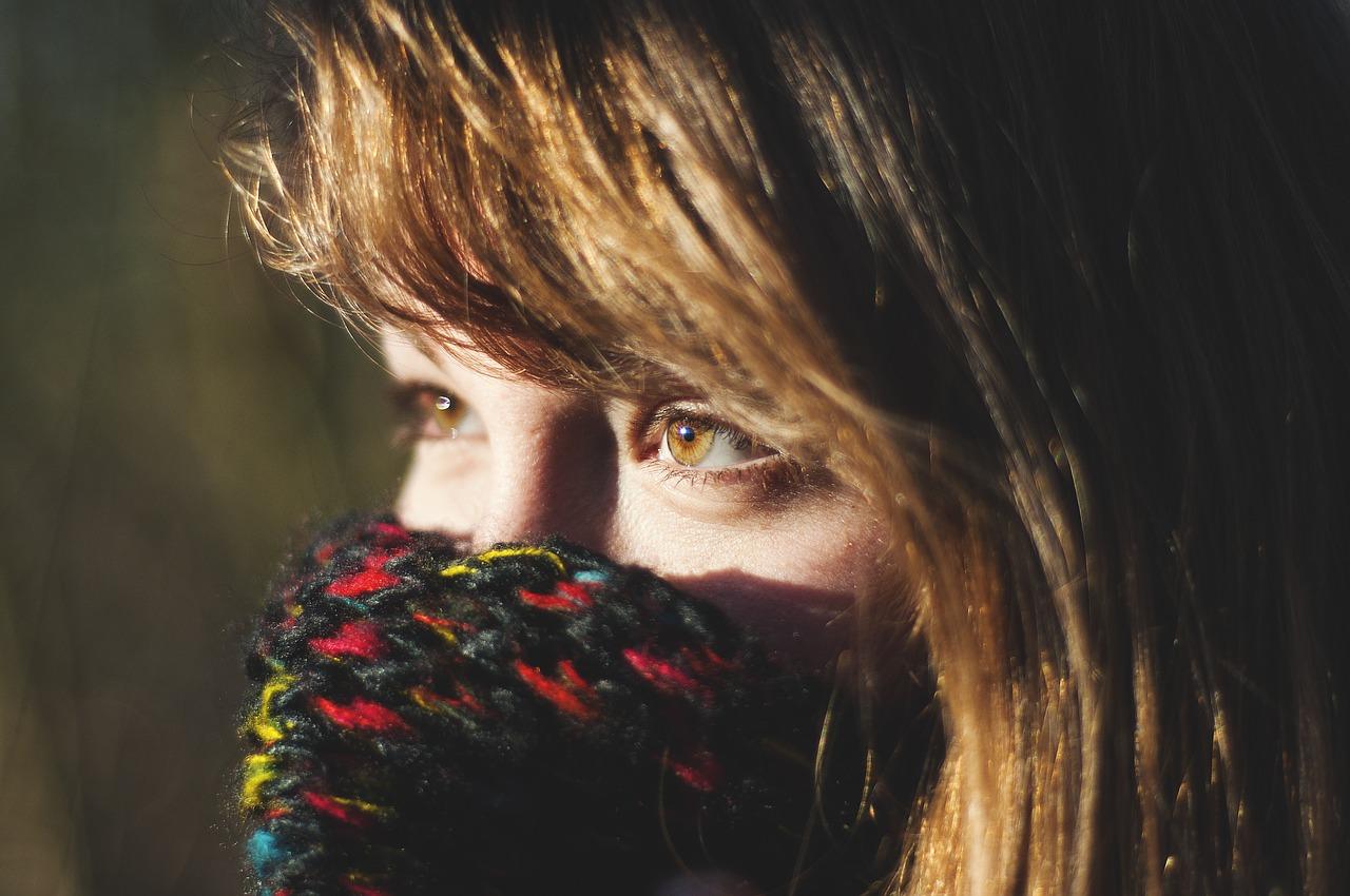 glowing skin in winter