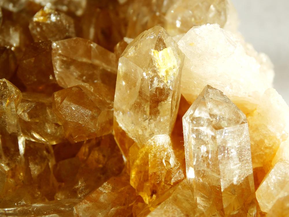Citrine Geode Crystals