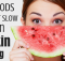 foods to preven skin aging
