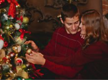 Young Couple using powerful health tips to enjoy their holiday week