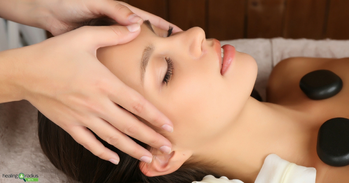 Client experiencing the benefits of integrative wellness