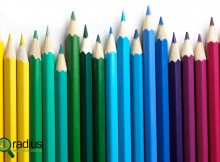 color represented by pencils